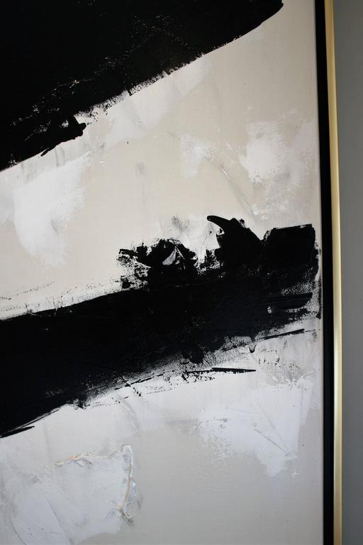 Quot Gridlock Quot Original Black And White Painting By Argentine