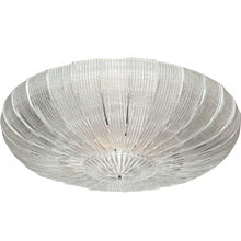 "Large Italian Murano Glass ""Plafoniera"" Chandelier (4 ft. diameter.)"