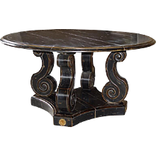 Table Baroque