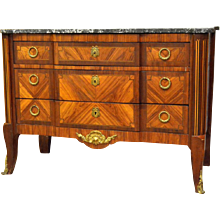 19th Century French Transition Style Commode