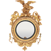 Regency Girandole Mirror
