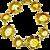 Topaz Citrine and Diamond Bracelet 18K