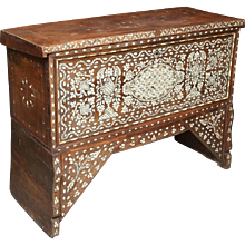 Mother-of-Pearl Wedding Chest from Syria