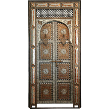 19th Century Moroccan Palace Door