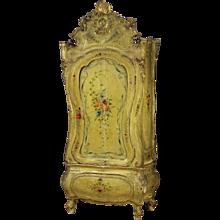 19th Century Venetian Lacquered Wardrobe