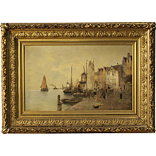 20th Century North Europe Seascape Painting