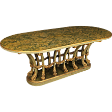 20th Century Italian Lacquered Table