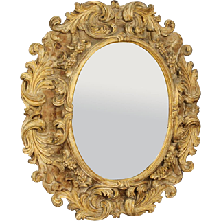 20th Century Italian Gilt Mirror