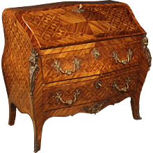 20th Century French Inlaid Bureau