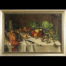 20th Century Dutch Still Life Painting