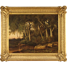 19th Century French Oil Painting