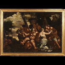 18th Century Italian Bacchanal Painting