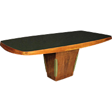 "20th Century Italian Design ""Dassi"" Table In Palisander"