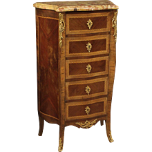 20th Century French Inlaid Chest Of Drawers