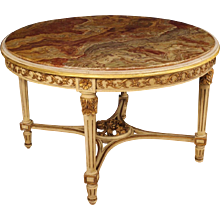 20th Century Italian Lacquered Round Table