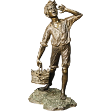 20th Century Neapolitan Sculpture In Bronze