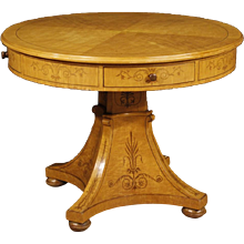 20th Century Italian Round Table In Charles X Style