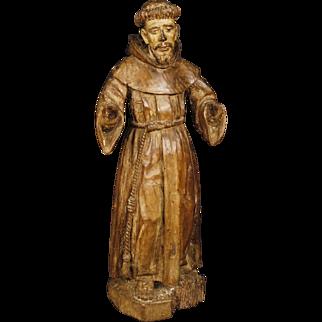 18th Century Antique French Religious Sculpture
