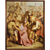 19th Century French Religious Painting Way Of The Cross