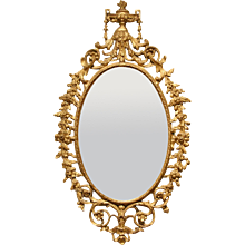 George III Carton Pierre Mirror