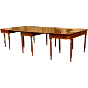 Regency Period Mahogany Dining Table