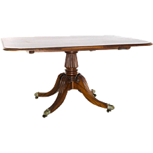 Regency Period Mahogany Breakfast Table