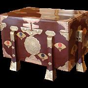 Late Edo Period Karabitsu or Storage Chest
