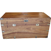 A Camphorwood Brassmounted Storage Chest