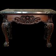 George II Period Mahogany Pier Table