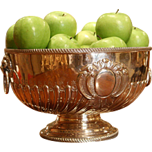 Victorian Silver Plate Punchbowl from Mappin & Webb