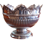 Victorian Silver Monteith Bowl