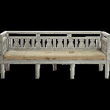 Gustavian sofa, circa 1790 - 1810