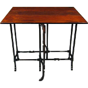 George III Mahogany Pad Foot Spider Leg Table (c. 1770 England)