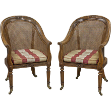 Pair of Regency Tub Chairs