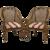 Pair of Regency Tub Chairs