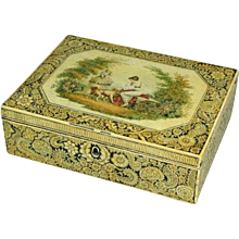 Regency Pen & Ink Work Box. Circa 1810. (c. 1810 England)