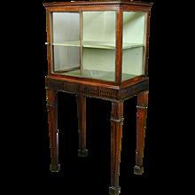 A rare George III period mahogany china cabinet. England, c.1770.