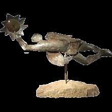 Folk Art Metal Sculpture