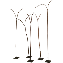 Tribal Walking Sticks , Collection of Five