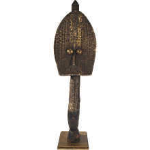 African Art Reliquary Figure