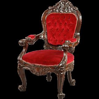 English William IV Period Armchair