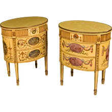 Pair of Commodes in the Neoclassical Style