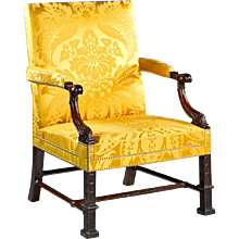 A Gainsborough Library Armchair in the George II Manner