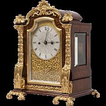 English 19th Century Ormolu ``````````````Table Clock