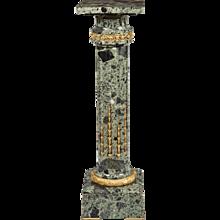 Marble Pedestal in the Louis XVI Manner