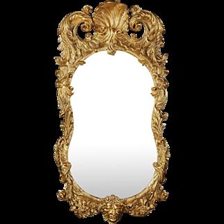 18th Century Irish Giltwood Mirror