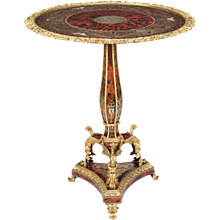 French 'Boulle' Marquetry Guéridon