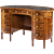 19th Century English Kneehole Desk with Marquetry