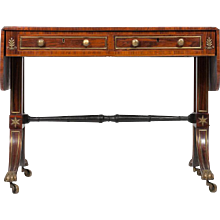 A Regency Kingwood Sofa Table