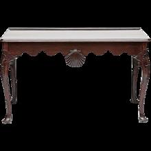 An Irish 18th Century Mahogany Side Table